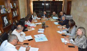 نهرا: لتكثيف اجتماعات لجنة إدارة الكوارث