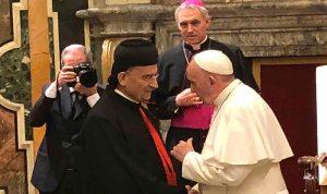 الراعي يلتقي البابا فرنسيس