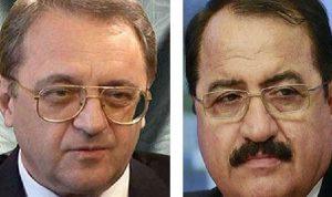 بوغدانوف وحداد يبحثان تشكيل اللجنة الدستورية السورية