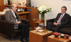 جعجع بحث مع سفير اليونان آخر التطورات