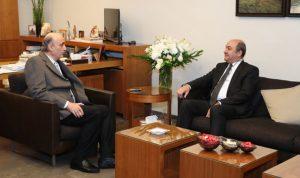 جعجع بحث مع السفير التركي الجديد آخر التطورات
