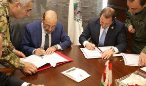 الصراف وقع ونظيره الأرميني اتفاقية تعاون عسكري