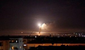 """سوريا تتصدّى لـ""""عدوان إسرائيلي"""" في سماء حلب"""
