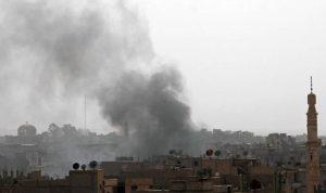 هجمات بطائرات مسيرة في دير الزور