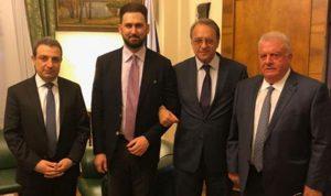 تيمور جنبلاط: سنستمر بتعزيز العلاقات التاريخية مع روسيا