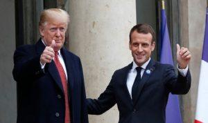 ترامب وماكرون: لضرورة وقف إطلاق النار في ليبيا