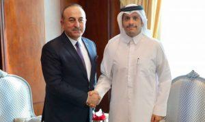 تركيا وقطر: نسعى لتعزيز العلاقات