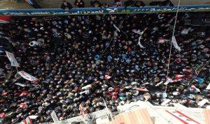 10 آلاف شخص يعتصمون دعماً لكهرباء زحلة: لن نعود الى العتمة (بالصور والفيديو)