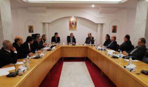 المجلس الاعلى للروم الكاثوليك: لتغليب المصلحة الوطنية لتشكيل الحكومة