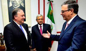 وسط توتر عارم.. بومبيو يستقبل نظيره المكسيكي