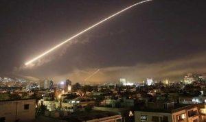 هجوم إسرائيلي في أجواء دمشق