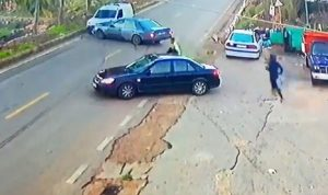 بالفيديو: حادث سير مروع في عيتا الشعب