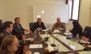 قائد اليونيفيل بحث ورئيس اتحاد بلديات جبل عامل قضايا انمائية