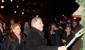 افتتاح مهرجان الميلاد في بكفيا