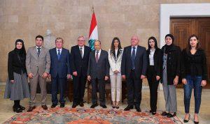 """مؤسسة """"إيناس أبو عياش الخيرية"""" تزور عون في ختام موسم IAAF AWARDS"""