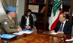 """لبنان يبلغ """"اليونيفيل"""" انتظار نتائج التحقيقات بشأن الانفاق"""
