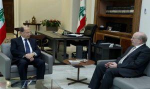 عون استقبل وزير الثقافة