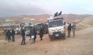 دفعة جديدة من النازحين من عرسال الى سوريا