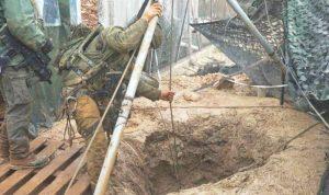 إسرائيل تواصل أعمال صب الإسمنت في الأنفاق