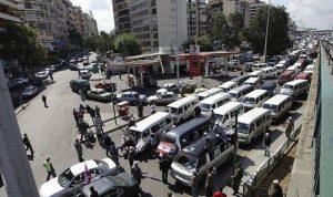 إضراب عام لاتحادات ونقابات قطاع النقل البري