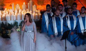 بالفيديو والصور: للمرة الأولى كارول سماحة تحيي ريسيتالا ميلاديا في لبنان