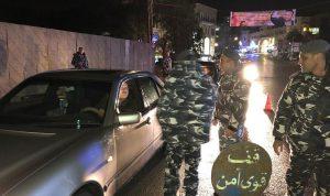 إجراءات أمنية استثنائية في الشوف