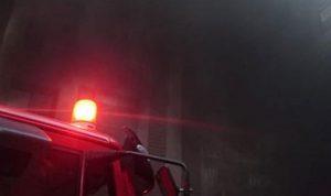 حريق سيارة داخل موقف في السوديكو
