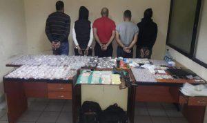 في الضبية… توقيف عصابة تروج المخدرات