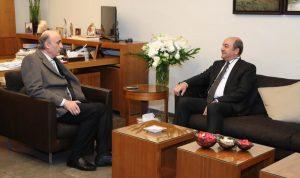 جعجع بحث وسفير تركيا المستجدات المحلية