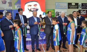 الشامسي في نادي المتحد الرياضي في طرابلس