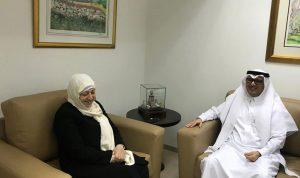 الحريري عرضت والسفير السعودي الاوضاع العامة