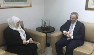 الحريري عرضت وسفير بريطانيا الجديد الأوضاع العامة