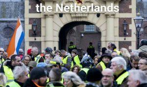 """حراك """"السترات الصفراء"""" يمتد إلى هولندا وبلجيكا"""