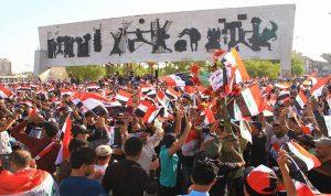 تجدد التظاهرات في بغداد ومحافظة البصرة