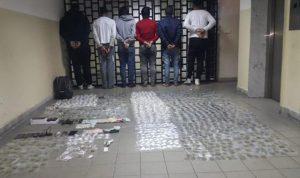 توقيف عصابة ترويج مخدرات في جبل لبنان