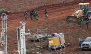 الجيش الإسرائيلي بدأ بعملية إغلاق الأنفاق عند الحدود
