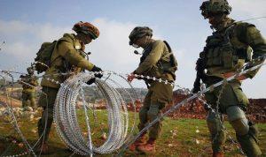 إسرائيل استأنفت رفع السواتر خلف الشريط التقني
