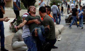 مواجهات بين الجيش الإسرائيلي وفلسطينيين في بيت لحم