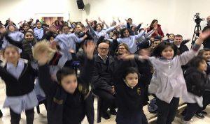 بالصور: نكد اقام غداء ميلاديا لأطفال المؤسسات الاجتماعية في زحلة