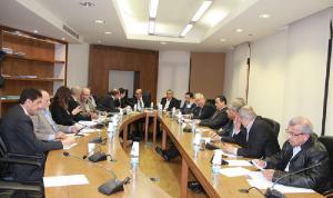 توصية بتأليف لجنة وزارية دائمة لمتابعة تنفيذ خطة الكهرباء