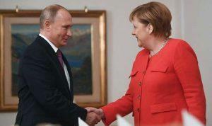بوتين وميركل بحثا في الملف السوري