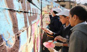"""بالصور: يوم بيئي في الفوار نظّمته """"مؤسسة رينه معوض"""" ومفوضية شؤون اللاجئين"""