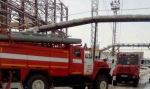 حريق يحاصر 9 أشخاص في منجم وسط روسيا