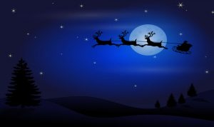 للمرة الأولى في لبنان… بابا نويل يحلق فوق سماء الناعمة