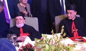 بالصور: البطريرك صفير يشارك في عشاء المؤسسة التي تحمل اسمه