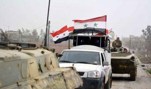 جيش النظام السوري يستعد لدخول منبج