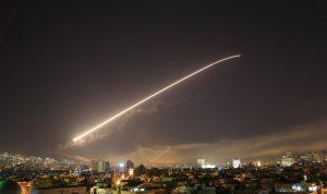 غارات على دمشق والدفاعات الجوية السورية تتصدّى!