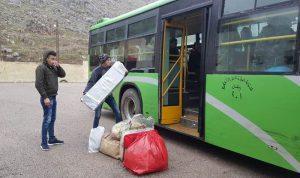 953 نازحاً عادوا من لبنان إلى سوريا