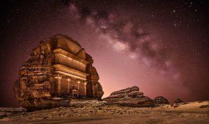 """""""شتاء طنطورة"""" يستقطب أضواء السياحة والفن الى العلا السعودية! (صور وفيديو)"""
