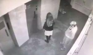 حقيقة فيديو الاعتداء العنيف على سيدة في بيروت!